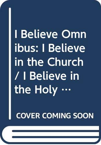 9780340694541: I BELIEVE IN THE HOLY SPIRIT