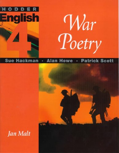 9780340697658: Hodder English: War Poetry Level 4 (Hodder English 4)