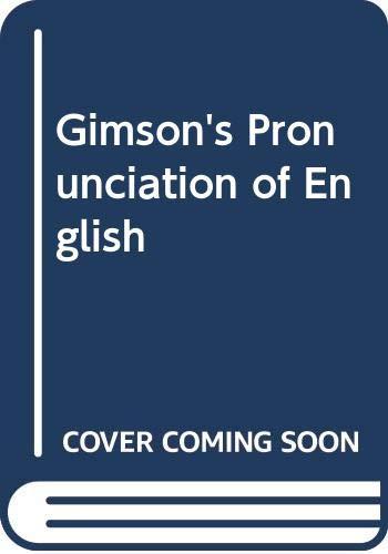 9780340700211: Gimson's Pronunciation of English