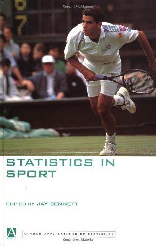 Statistics In Sport Arnold Applications Of Jay Bennett