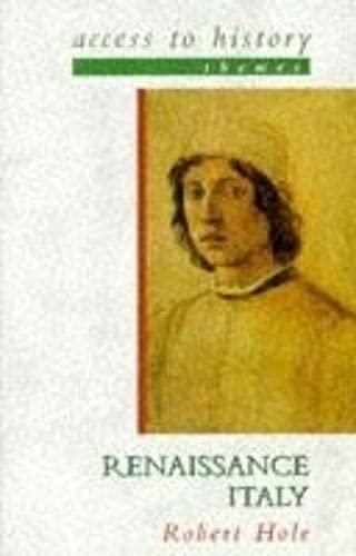 9780340701362: Renaissance Italy (Access to History)