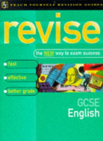 9780340701591: GCSE English (Teach Yourself Revision Guides)