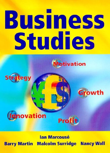 Business Studies: Hammond, Andrew