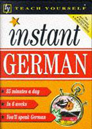 9780340705001: Instant German (Teach Yourself: Instant)