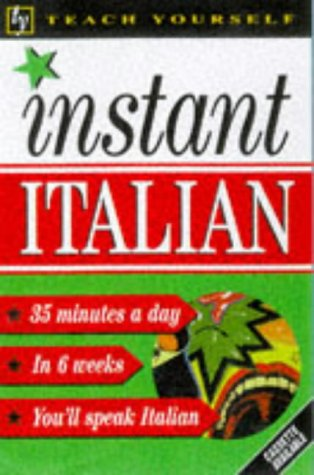 9780340705018: Instant Italian (Teach Yourself: Instant)
