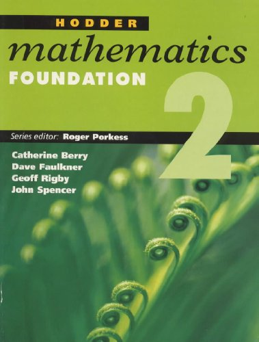 Hodder Mathematics: Foundation Level Bk. 2 (0340705493) by Porkess, Roger; etc.