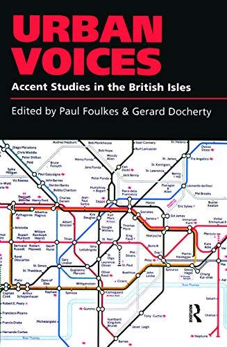 9780340706084: Urban Voices: Accent Studies in the British Isles