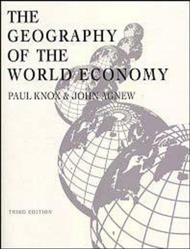 9780340706121: The Geography of the World Economy, 3Ed (Hodder Arnold Publication)