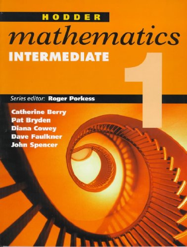 Hodder Mathematics: Intermediate Level Bk. 1 (9780340711934) by Roger Porkess; etc.