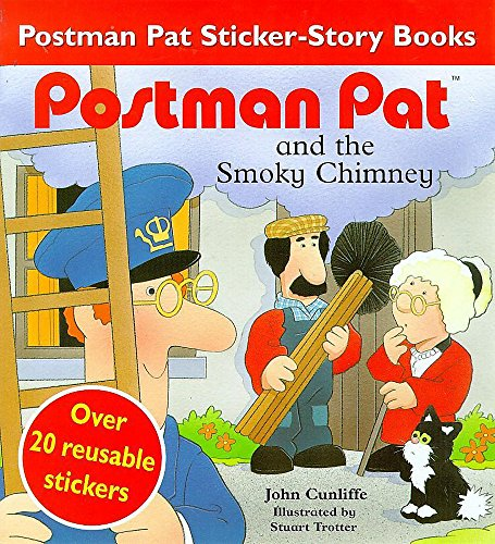 9780340716250: Postman Pat and the Smokey Chimney: Over 20 Reusable Stickers (The New Adventures of Postman Pat)