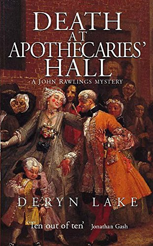 9780340718612: Death at Apothecaries' Hall