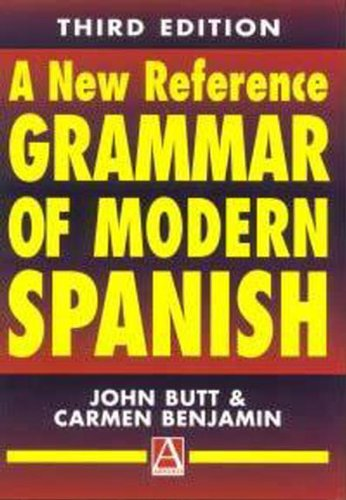 9780340719510: A New Reference Grammar of modern Spanish 3rd Edition: Volume 1 (Routledge Reference Grammars)