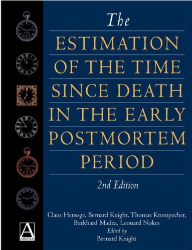 Estimation of the Time Since Death in: B. Madea, Thomas