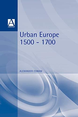9780340719817: Urban Europe 1500-1700 (Hodder Arnold Publication)