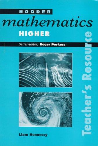 9780340720622: Hodder Mathematics Higher TEACHER'S RESOURCE: Higher Level (Hodder GCSE Mathematics)
