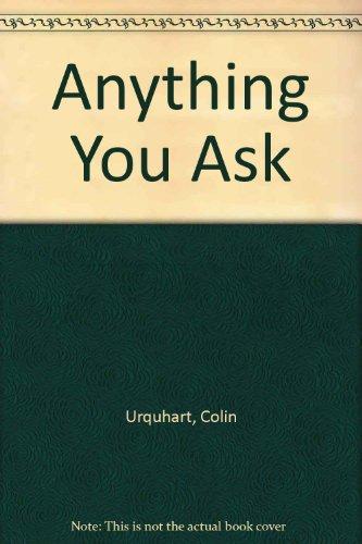 9780340722312: Anything You Ask (Hodder Christian paperbacks)