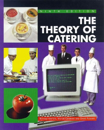 9780340725122: The Theory Of Catering 9th edn