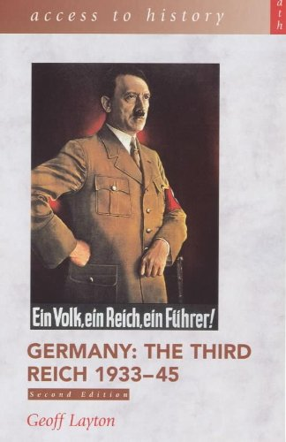 9780340725337: Germany: The Third Reich, 1933-45 (Access to History)
