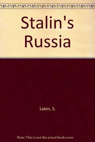9780340731505: Stalin's Russia (Reading History)