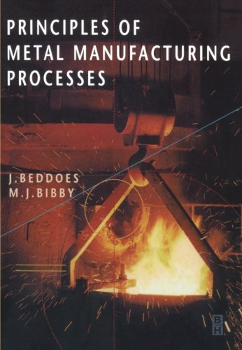9780340731628: Principles of Metal Manufacturing Processes