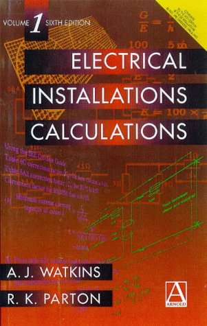 the latest 8cf6b e6ba5 9780340731840  Electrical Installation Calculations Volume 1  v. 1