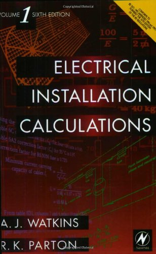 9780340731840: Electrical Installation Calculations Volume 1, Sixth Edition