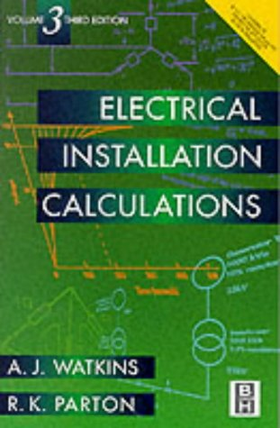 9780340731864: Electrical Installation Calculations Volume 3: v. 3