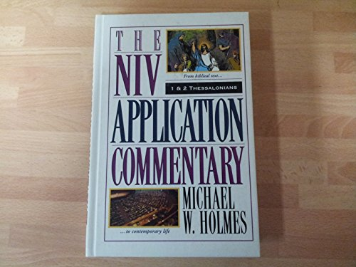 9780340735664: 1 & 2 Thessalonians (NIV Application Commentary)