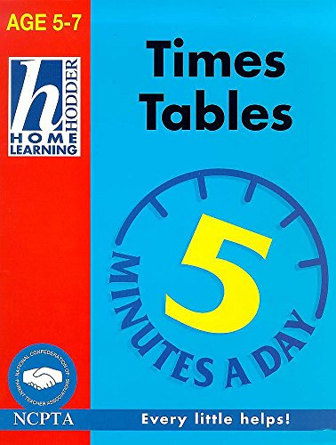 9780340736708: Times Tables (Hodder Home Learning 5 Minutes a Day: Age 5-7)