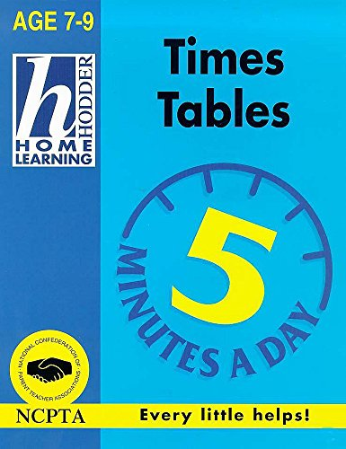 9780340736739: Times Tables (Hodder Home Learning 5 Minutes a Day: Age 7-9)