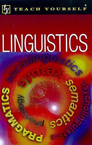 9780340737330: Linguistics