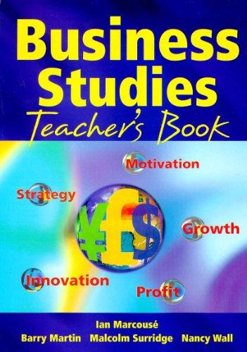 9780340737637: Business Studies: Teacher's Book