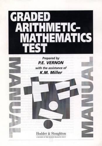 9780340737767: Graded Arithmetic-Mathematics Test Manual