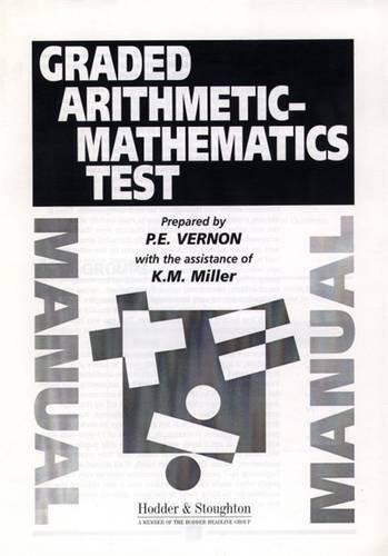9780340737835: Graded Arithmetic-Mathematics Test SPECIMEN SET