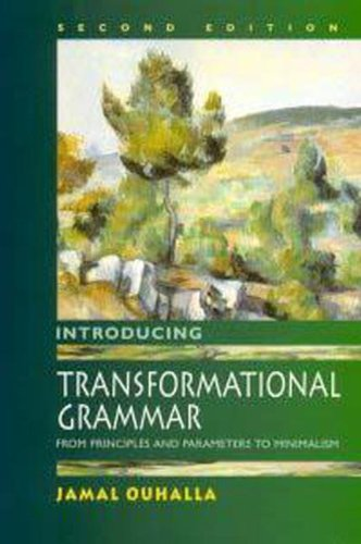 9780340740361: Introducing Transformational Grammar, 2Ed: From Principles and Parameters to Minimalism
