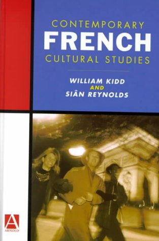 9780340740491: Contemporary French Cultural Studies (Hodder Arnold Publication)