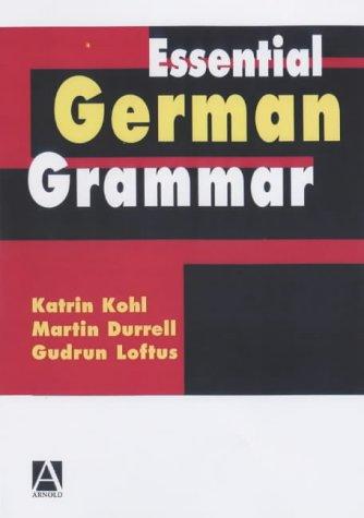 9780340741887: Essential German Grammar