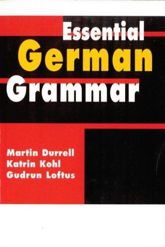 9780340741894: Essential German Grammar (Essential Language Grammars)