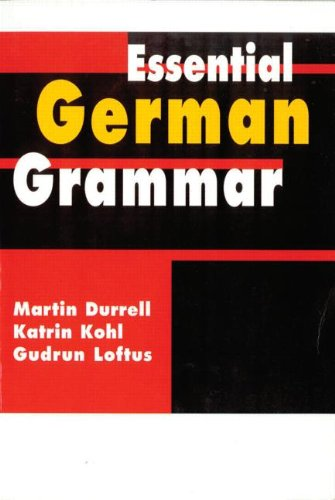 9780340741894: Essential German Grammar (Essential Language Grammars) (Volume 1)