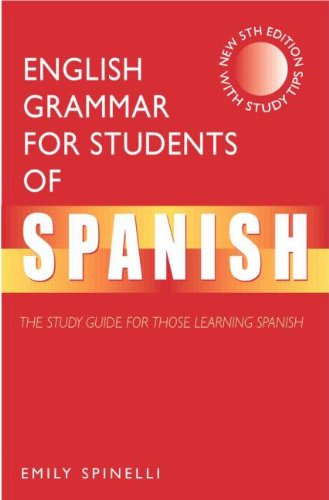 9780340741986: English Grammar for Students of Spanish: The Study Guide for Those Learning Spanish