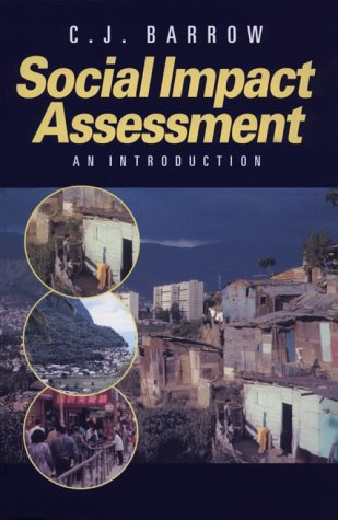 9780340742174: Social Impact Assessment