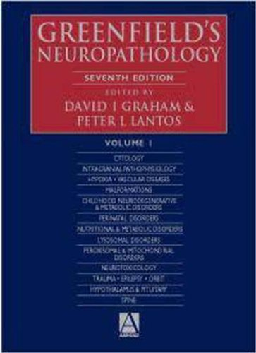 9780340742310: Greenfield's Neuropathology, 7Ed: v. 1