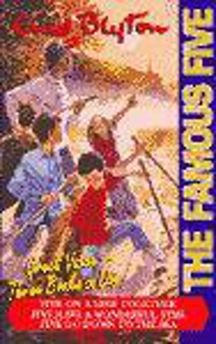 """9780340744284: Famous Five Bind Up 3 In 1 Hb (10-12): """"Five on a Hike Together"""", """"Five Have a Wonderful Time"""", """"Five Go Down to the Sea"""" Bks. 10-12 (Famous Five Gift Books and Collections)"""
