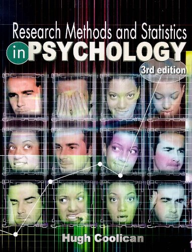 9780340747605: Research Methods and Statistics in Psychology