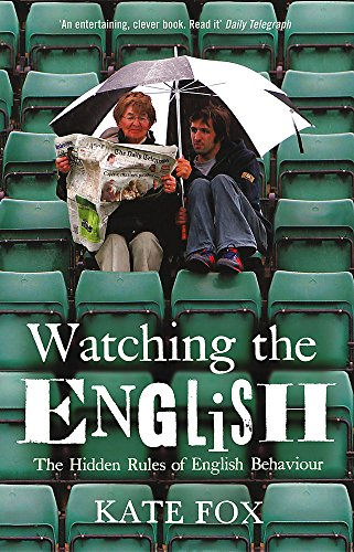 9780340752128: Watching the English