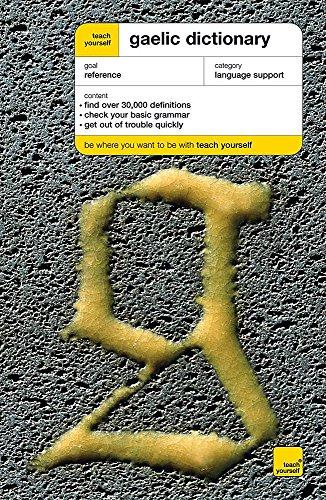 9780340753415: Gaelic Dictionary (Teach Yourself)