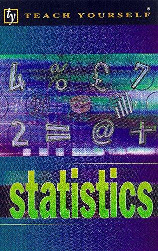 9780340753583: Statistics (Teach Yourself)