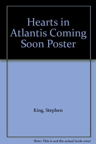 9780340754740: Hearts in Atlantis Coming Soon Poster