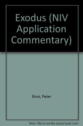 9780340756607: Exodus (NIV Application Commentary)