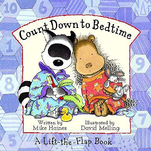 9780340757635: Countdown to Bedtime (Fidget And Quilly)